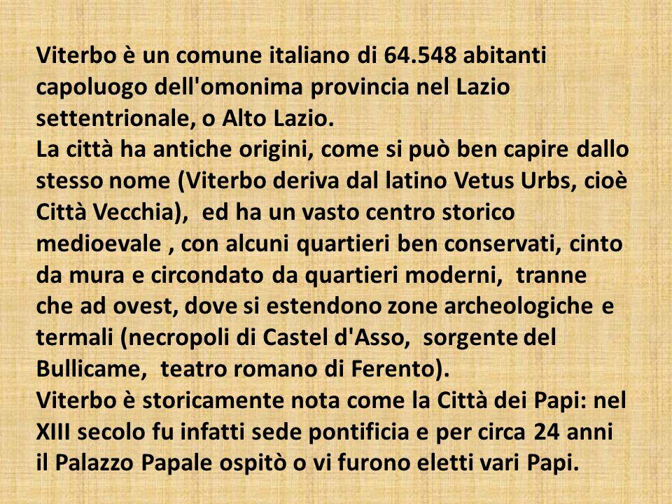 Viterbo è un comune italiano di 64