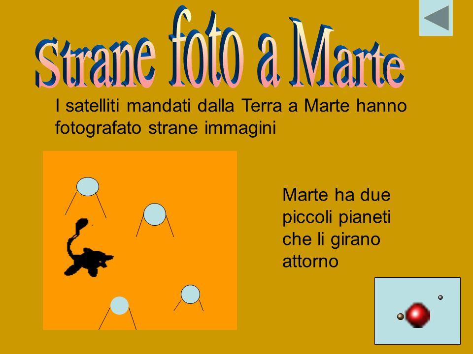 Strane foto a Marte I satelliti mandati dalla Terra a Marte hanno fotografato strane immagini.