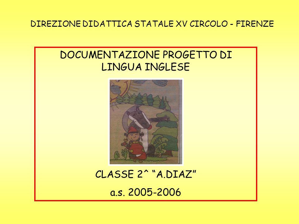 DOCUMENTAZIONE PROGETTO DI LINGUA INGLESE