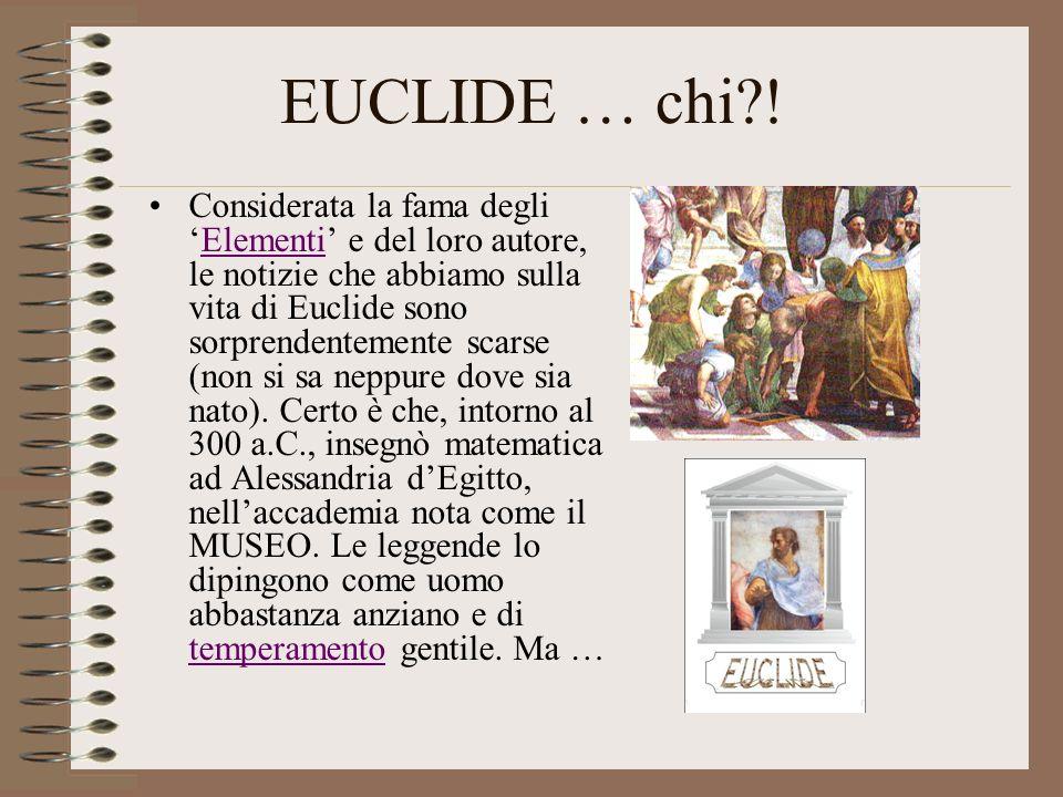 EUCLIDE … chi !