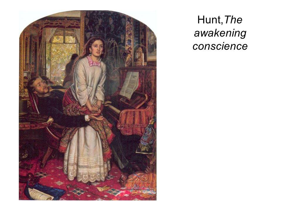 Hunt,The awakening conscience