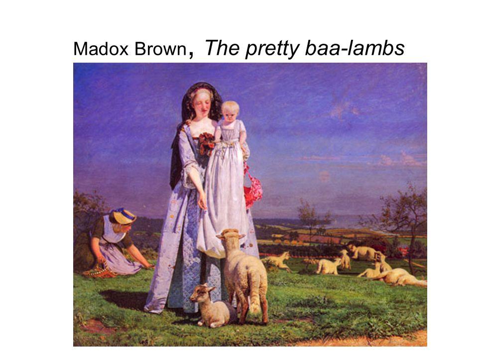 Madox Brown, The pretty baa-lambs