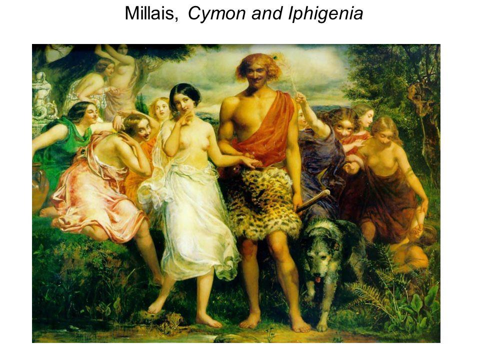 Millais, Cymon and Iphigenia