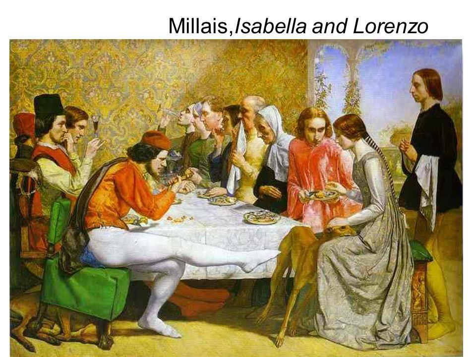 Millais,Isabella and Lorenzo
