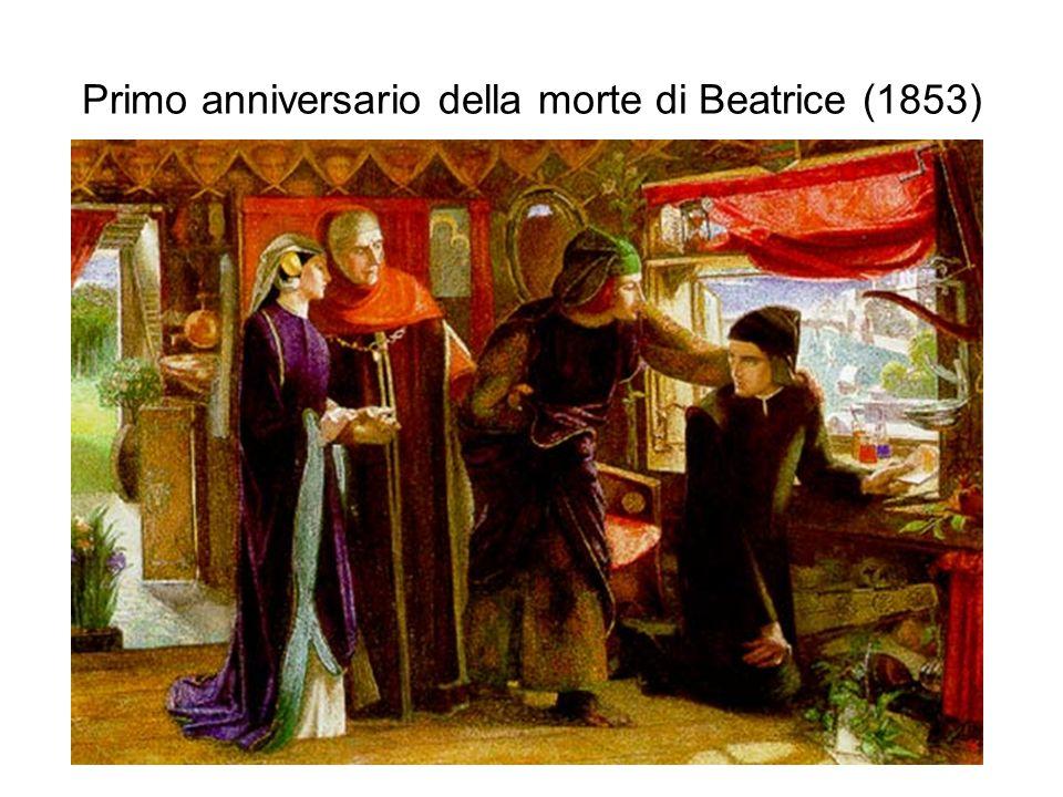 Primo anniversario della morte di Beatrice (1853)