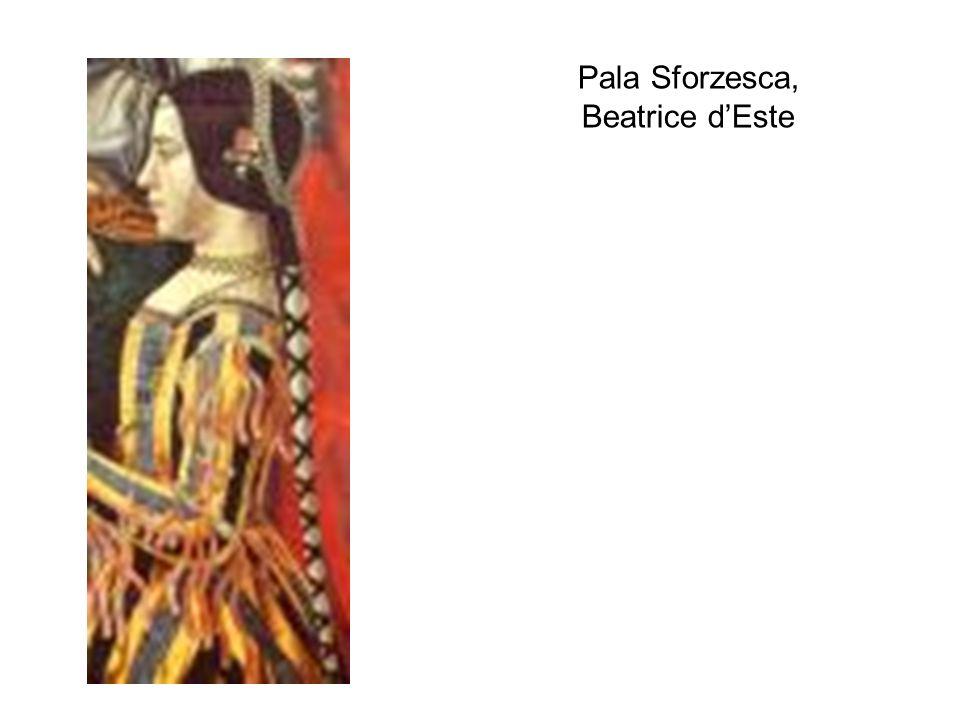 Pala Sforzesca, Beatrice d'Este