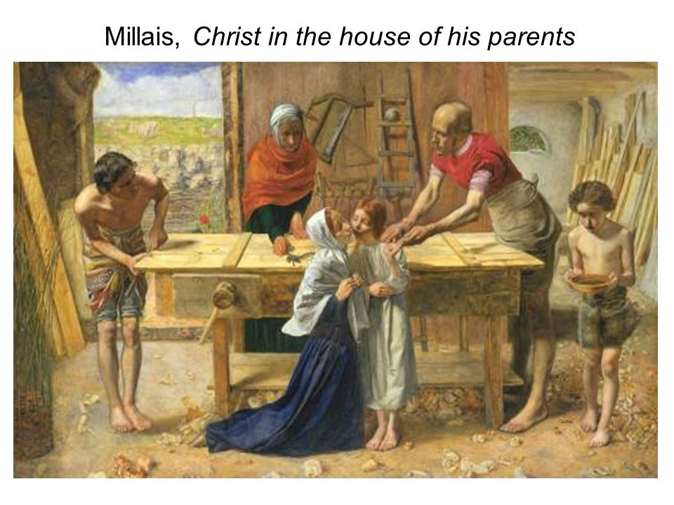 Millais, Christ in the house of his parents
