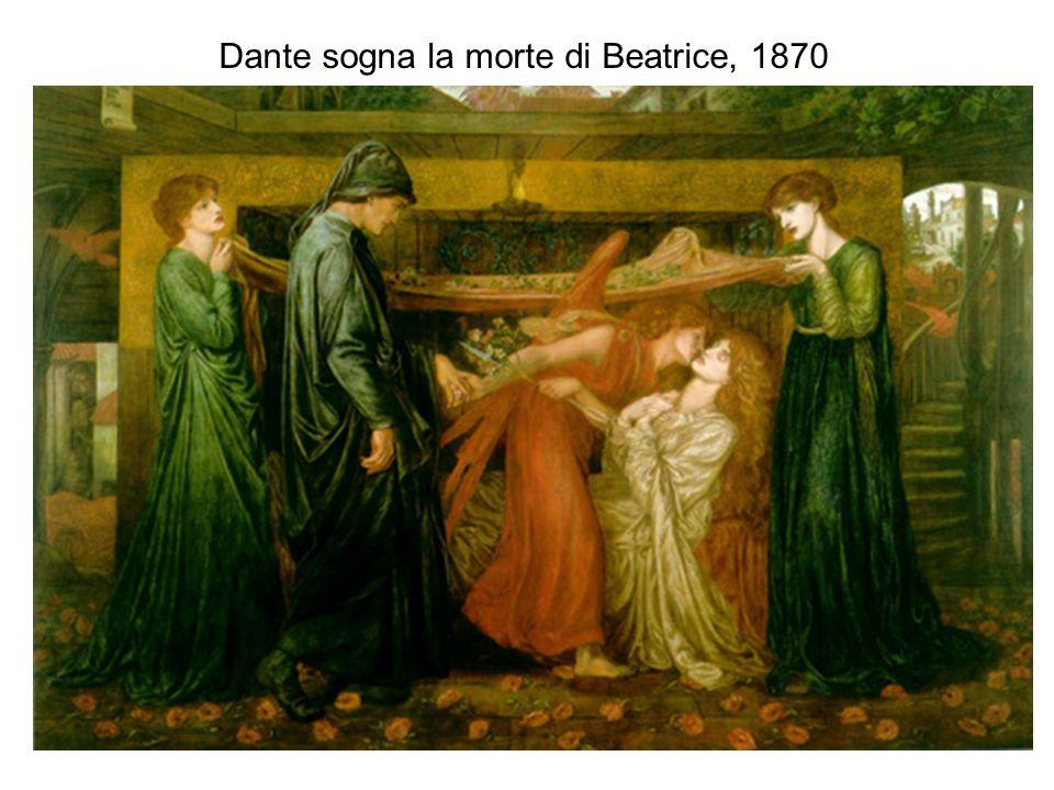 Dante sogna la morte di Beatrice, 1870