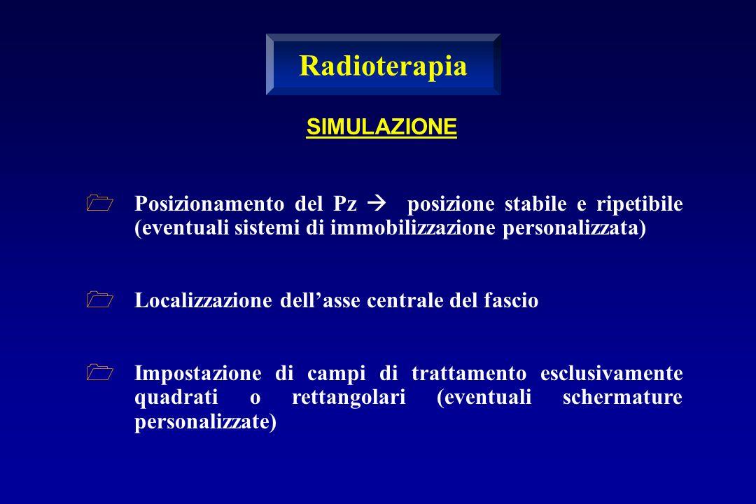 Radioterapia SIMULAZIONE