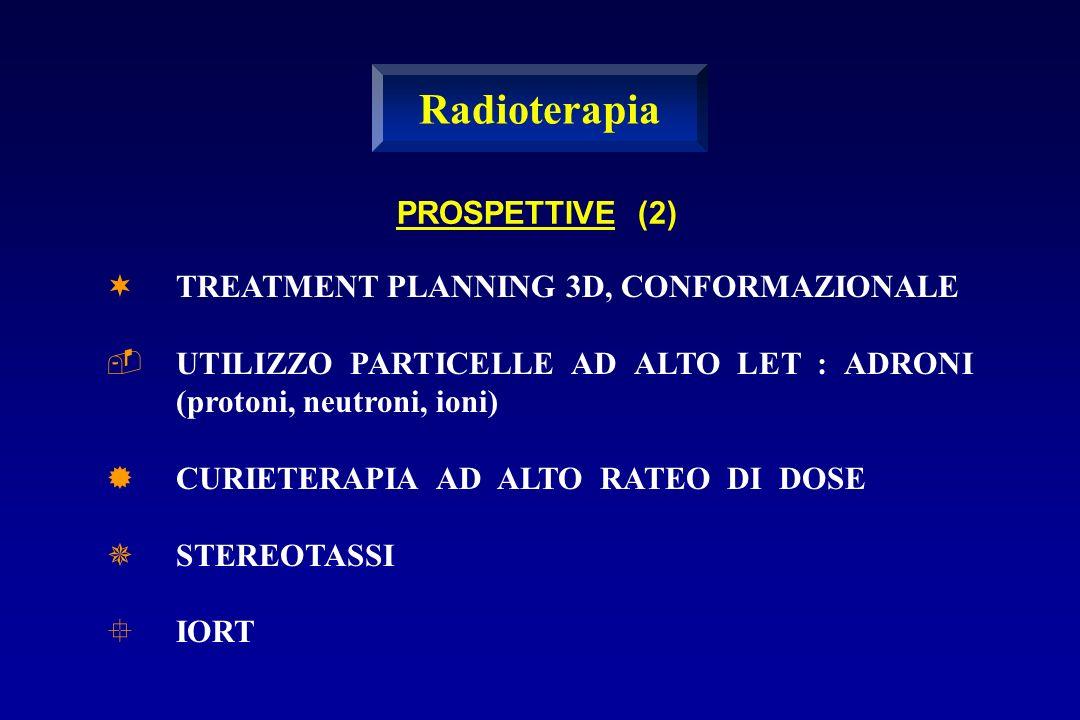 Radioterapia PROSPETTIVE (2) TREATMENT PLANNING 3D, CONFORMAZIONALE