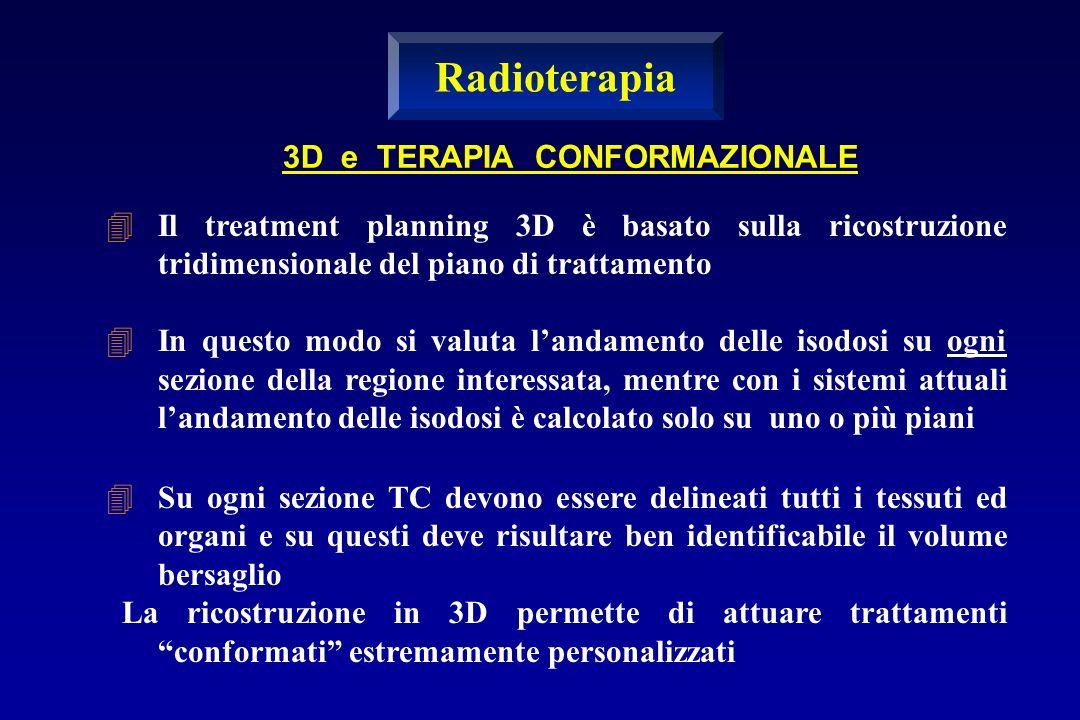 Radioterapia 3D e TERAPIA CONFORMAZIONALE