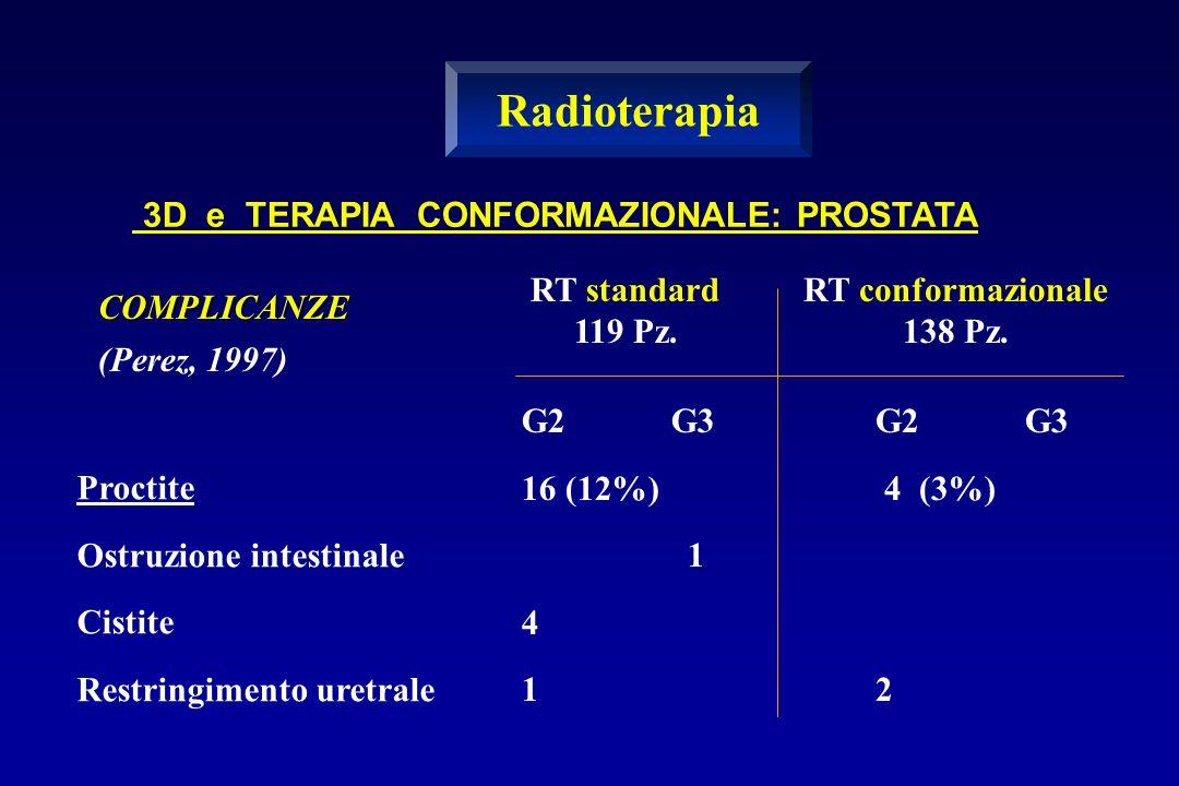 Radioterapia 3D e TERAPIA CONFORMAZIONALE: PROSTATA RT standard