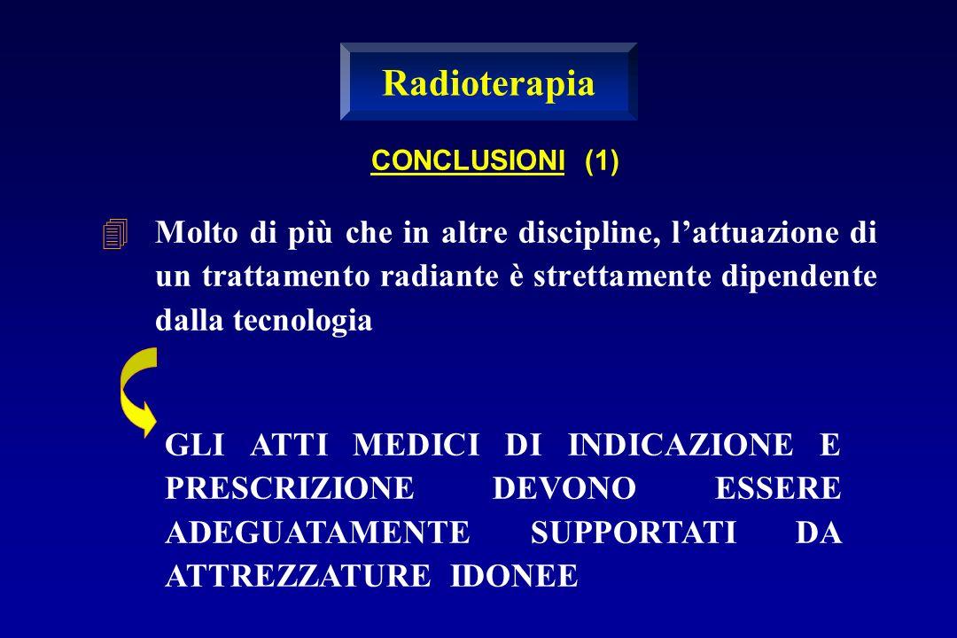 Radioterapia CONCLUSIONI (1)