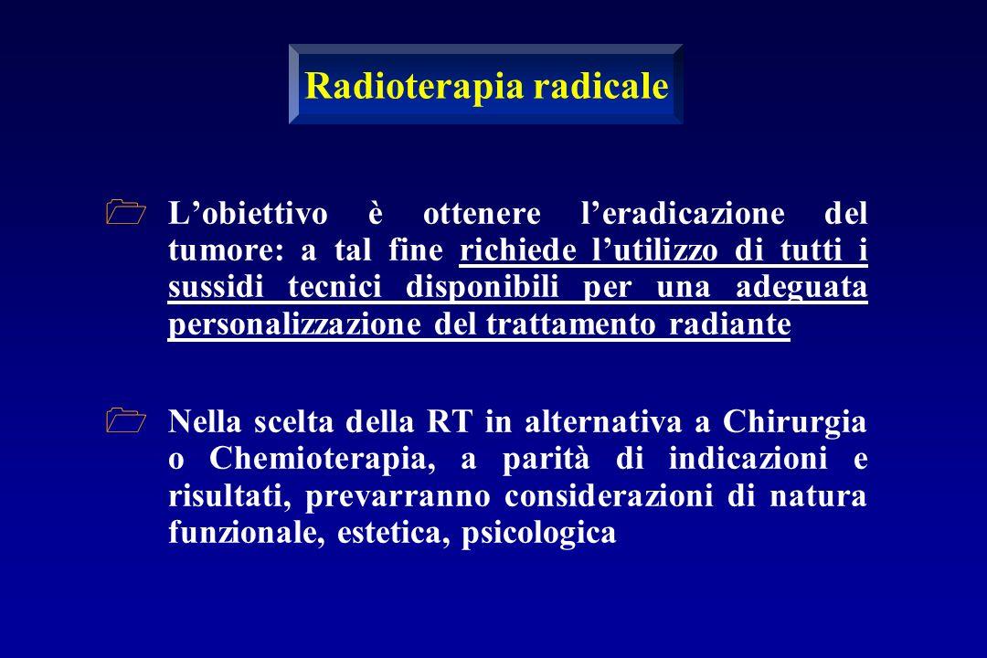 Radioterapia radicale