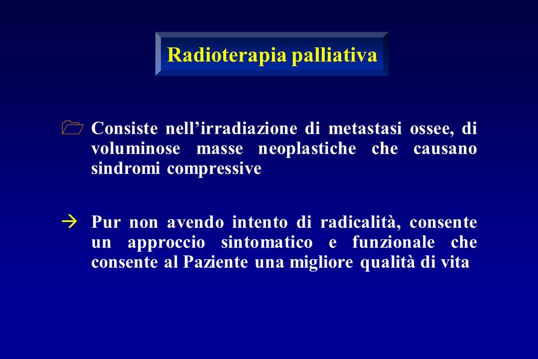 Radioterapia palliativa