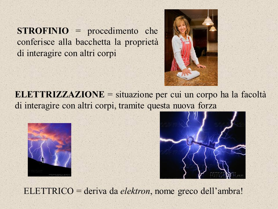 STROFINIO = procedimento che conferisce alla bacchetta la proprietà di interagire con altri corpi
