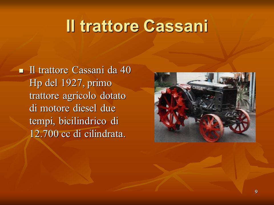 Il trattore Cassani