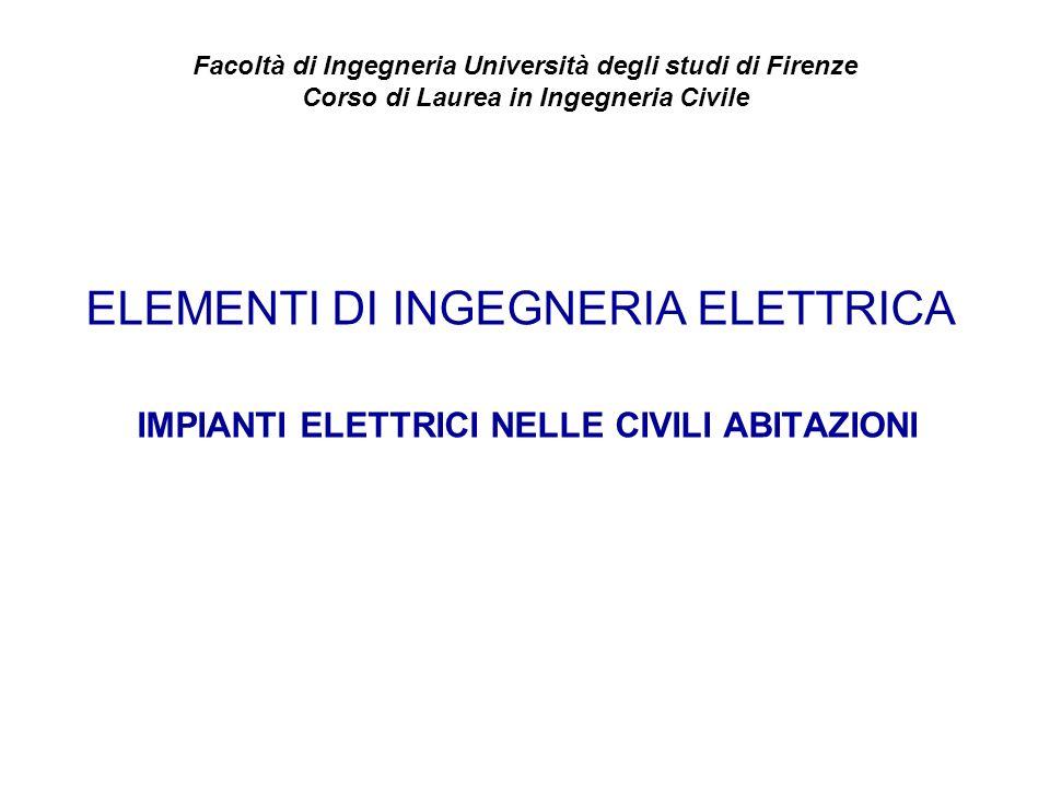 Facoltà di Ingegneria Università degli studi di Firenze
