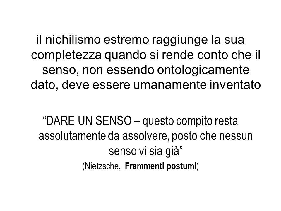 (Nietzsche, Frammenti postumi)
