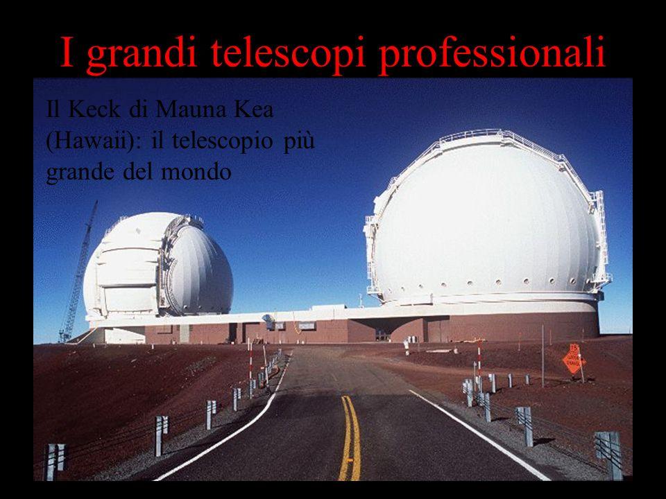 I grandi telescopi professionali