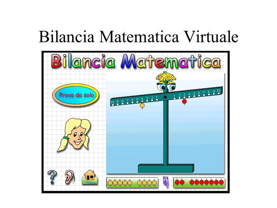 Bilancia Matematica Virtuale
