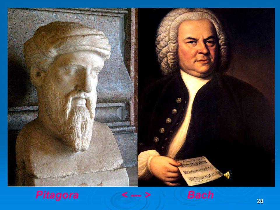 Pitagora < --- > Bach