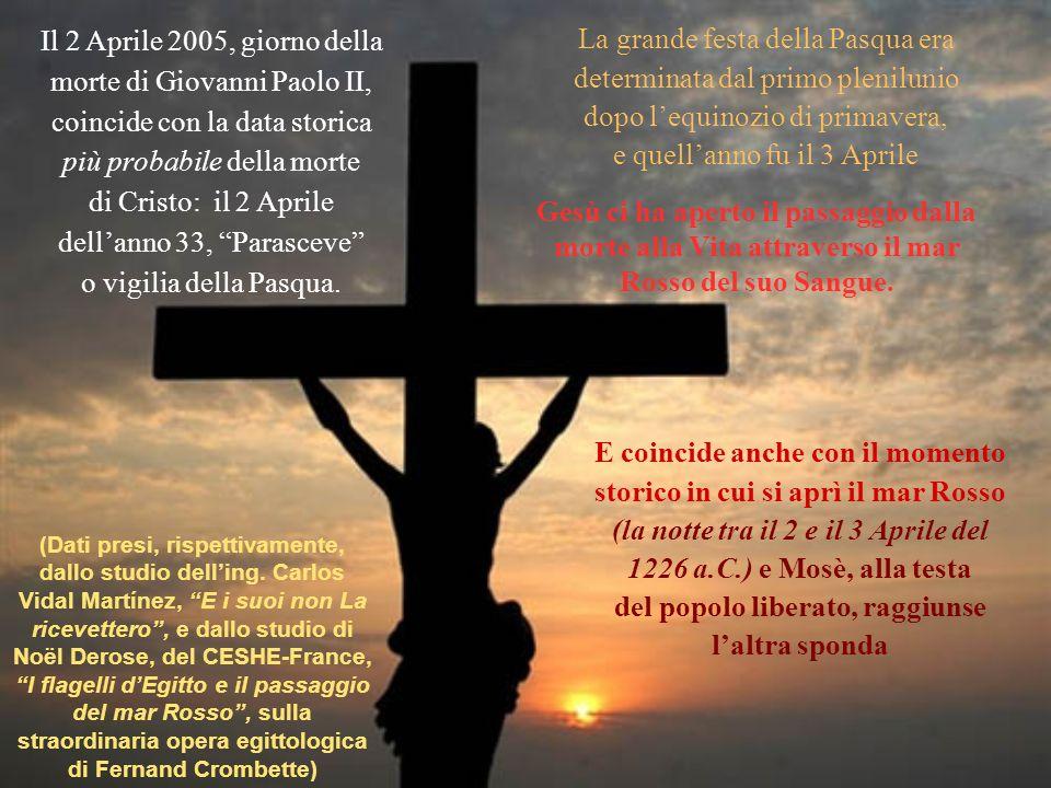 morte di Giovanni Paolo II, coincide con la data storica