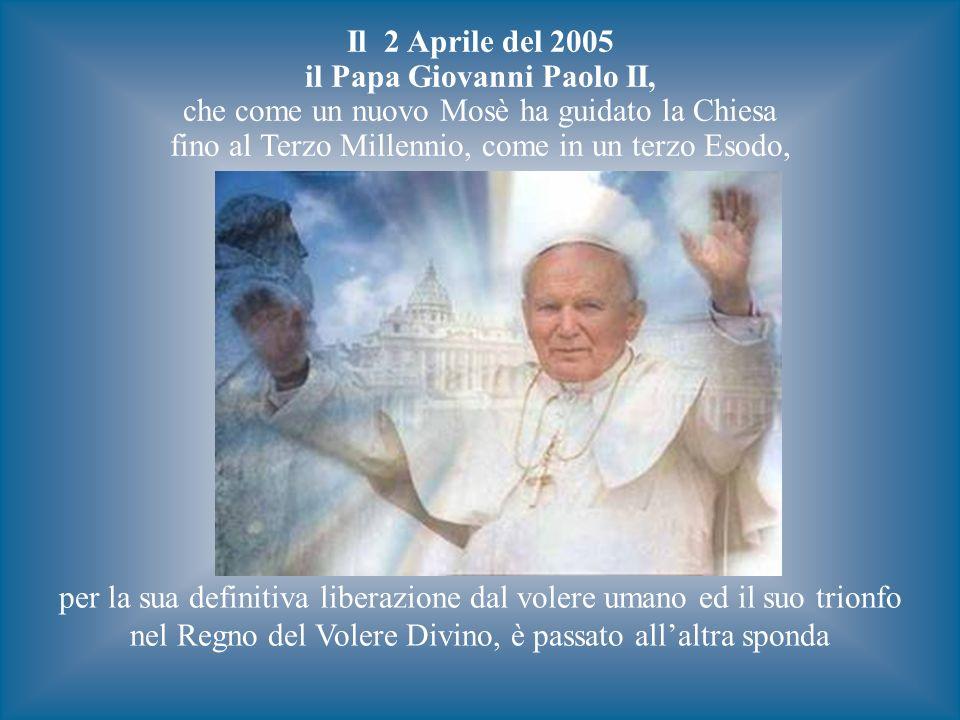 il Papa Giovanni Paolo II,