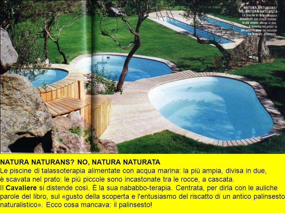 NATURA NATURANS NO, NATURA NATURATA Le piscine di talassoterapia alimentate con acqua marina: la più ampia, divisa in due,