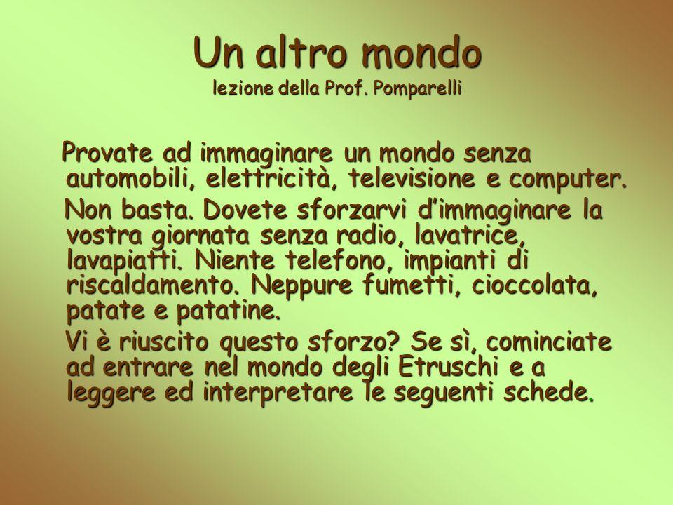 Un altro mondo lezione della Prof. Pomparelli