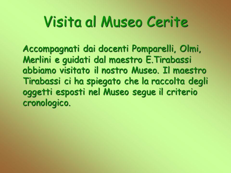 Visita al Museo Cerite