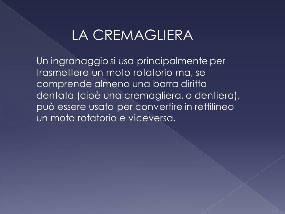 LA CREMAGLIERA