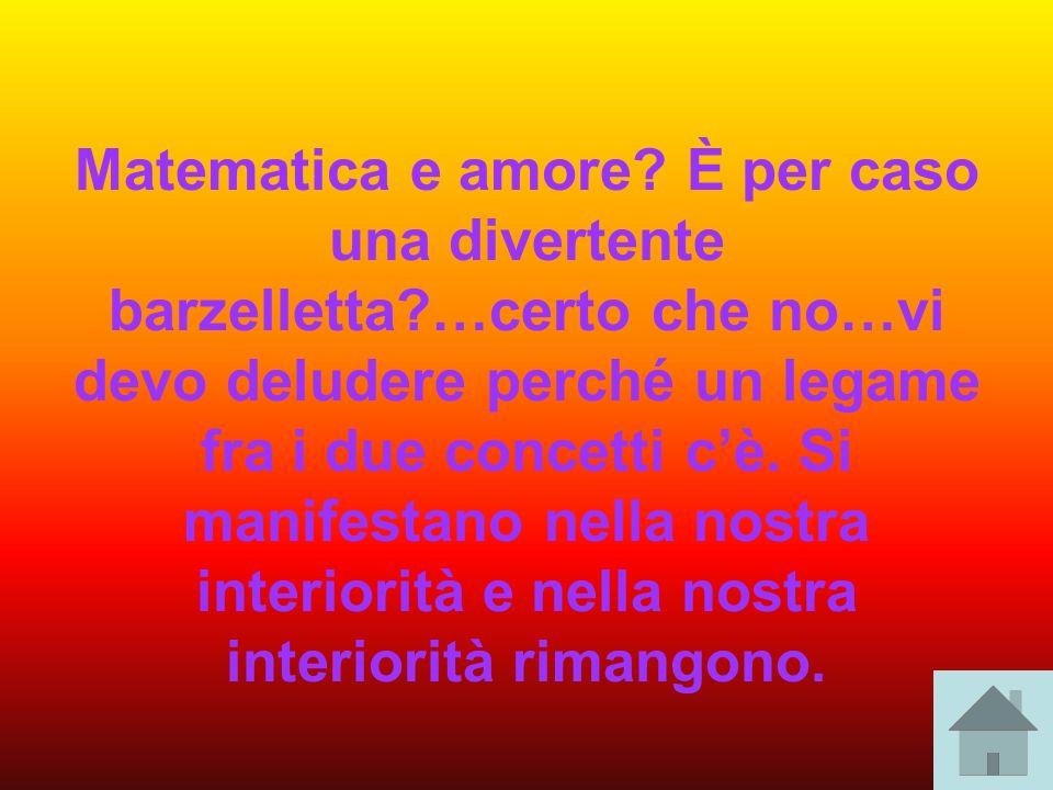 Matematica e amore. È per caso una divertente barzelletta