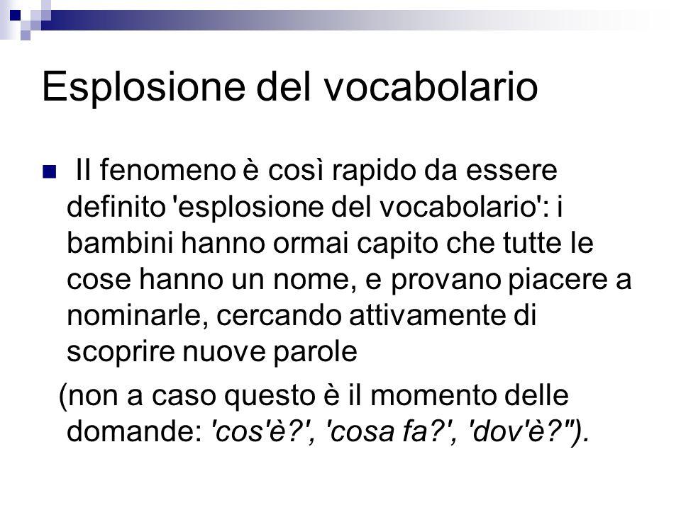 Esplosione del vocabolario