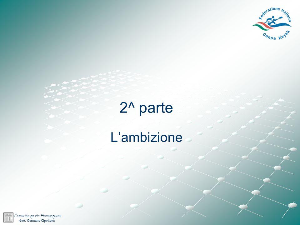 2^ parte L'ambizione