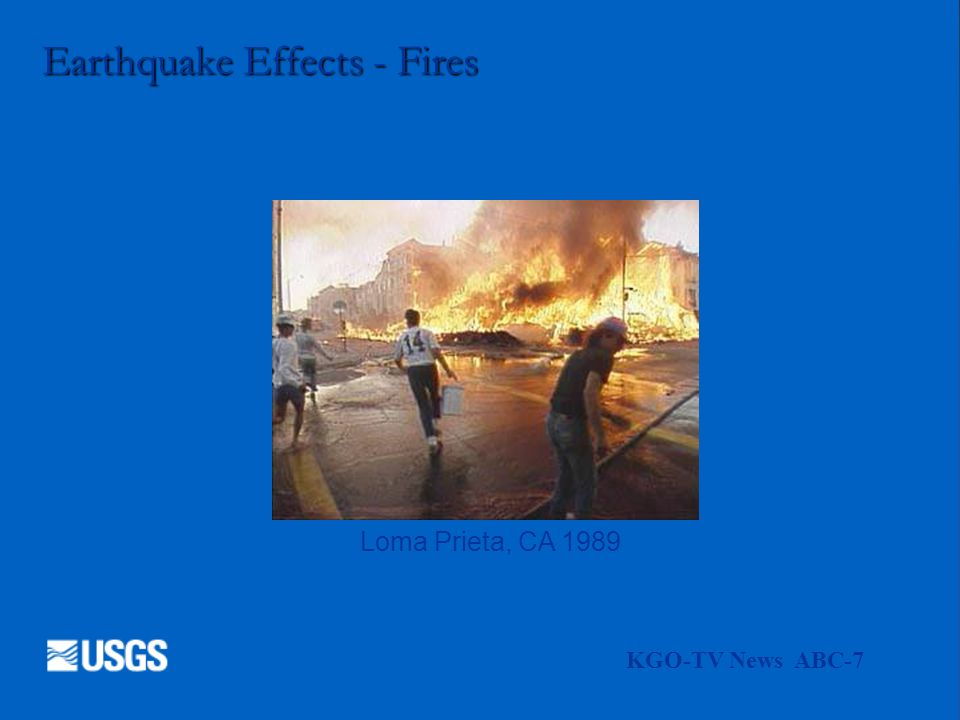 Earthquake Effects - Fires