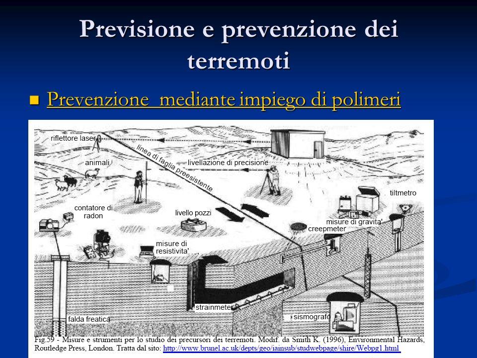 Previsione e prevenzione dei terremoti