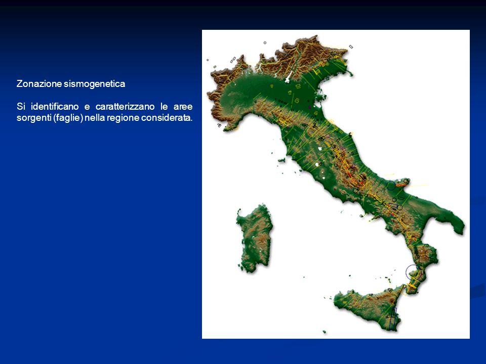 Zonazione sismogenetica