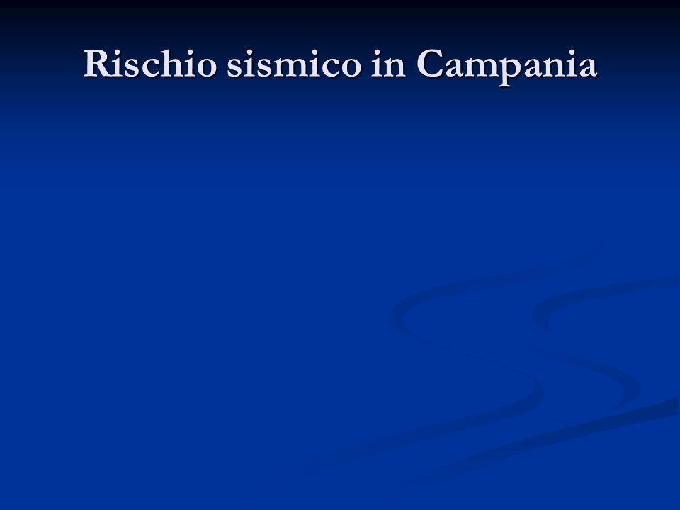 Rischio sismico in Campania