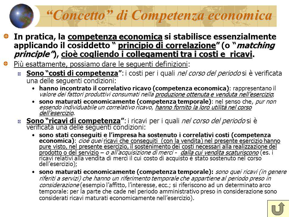 Concetto di Competenza economica