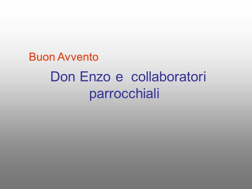 Don Enzo e collaboratori parrocchiali