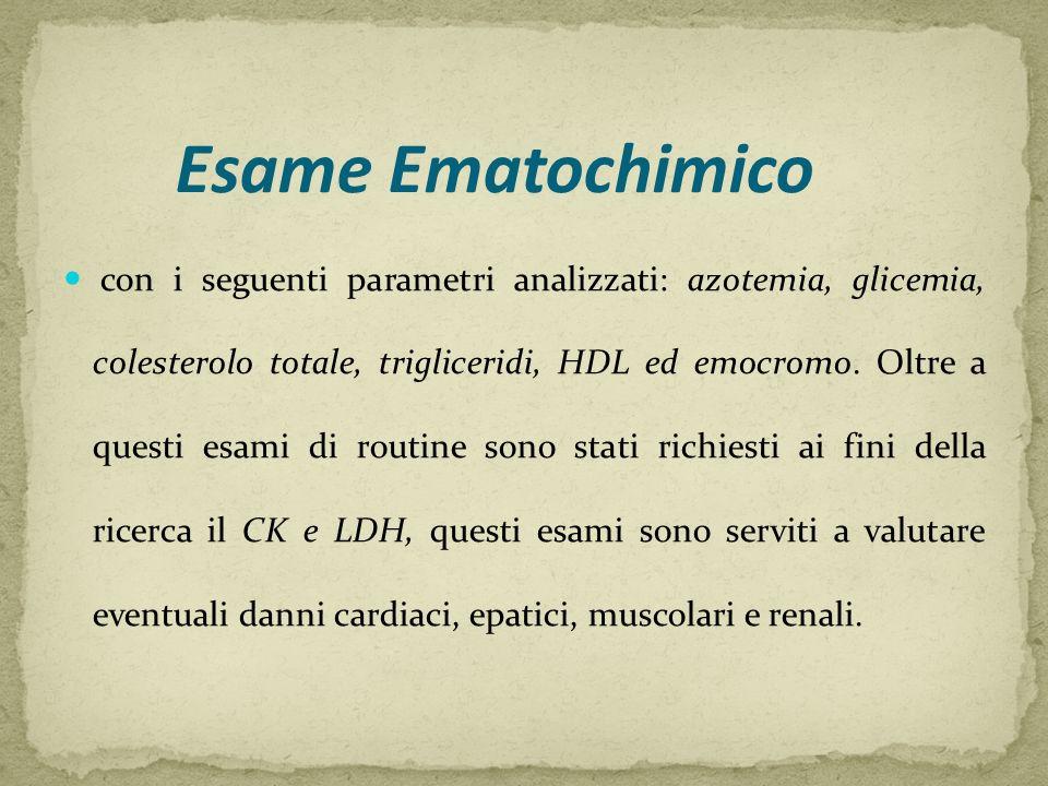 Esame Ematochimico