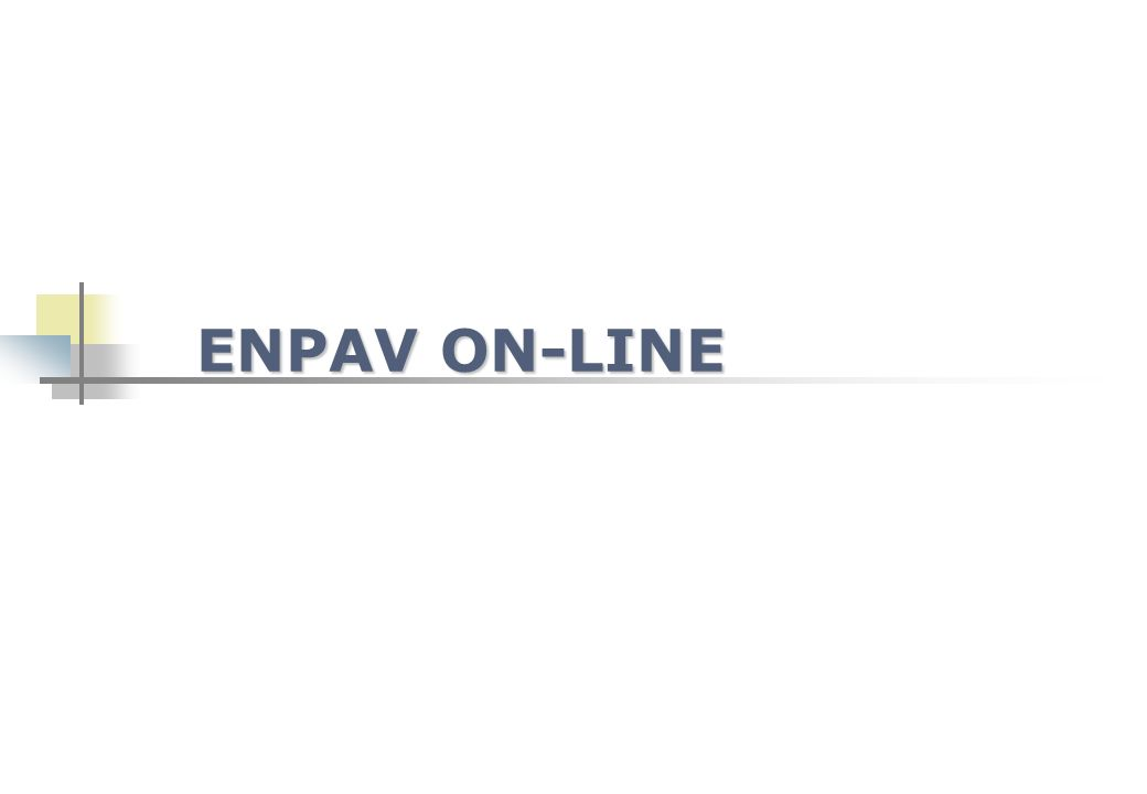ENPAV ON-LINE