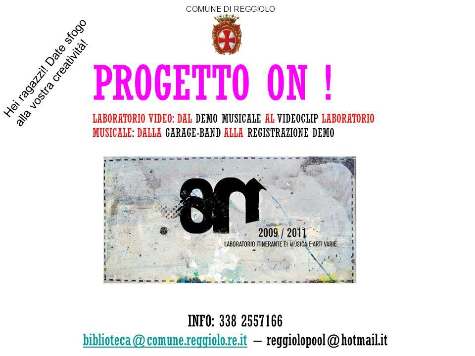 biblioteca@comune.reggiolo.re.it – reggiolopool@hotmail.it