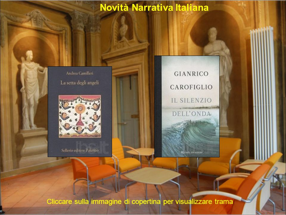 Novità Narrativa Italiana