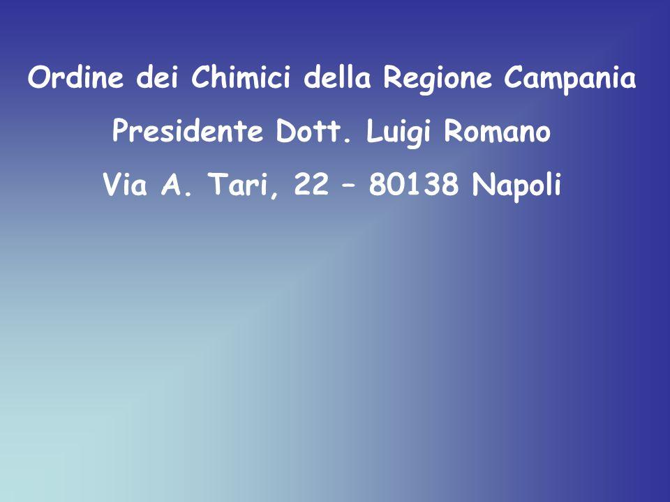 Ordine dei Chimici della Regione Campania