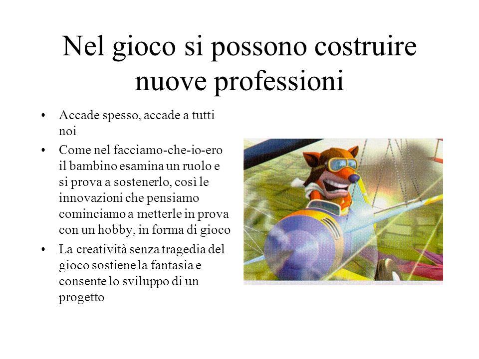 Nel gioco si possono costruire nuove professioni