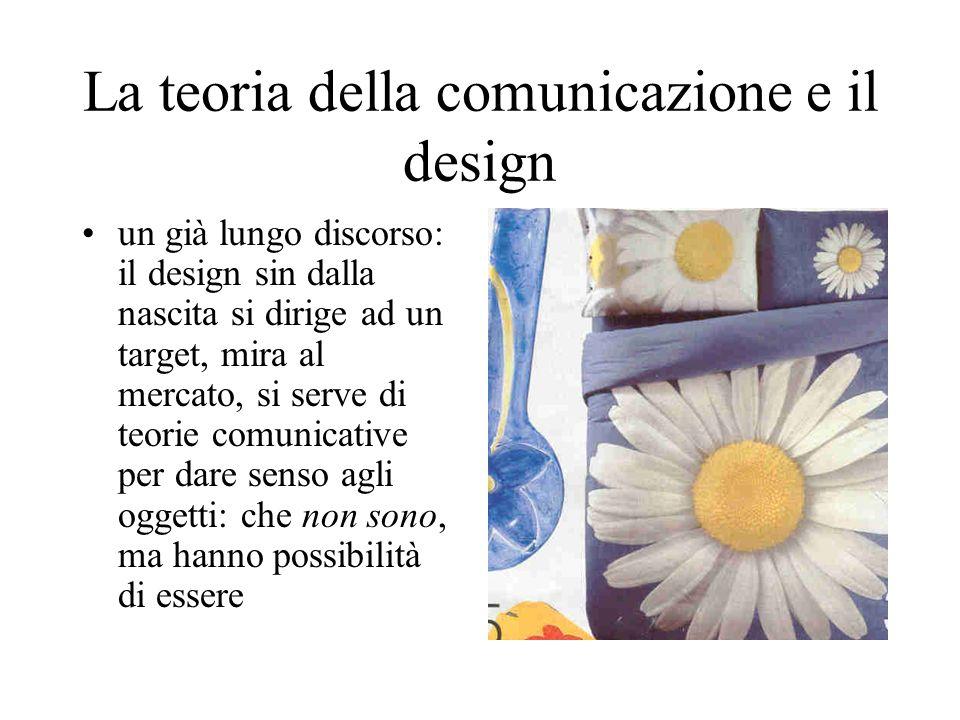 La teoria della comunicazione e il design
