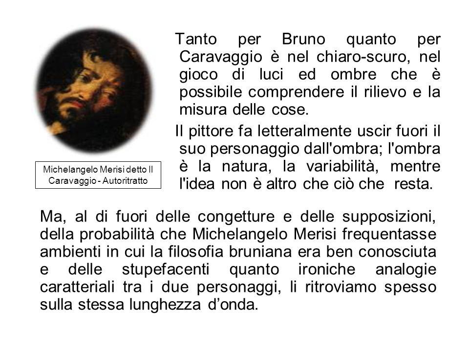 Michelangelo Merisi detto Il Caravaggio - Autoritratto