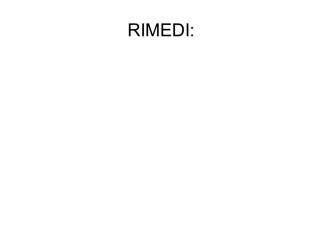 RIMEDI: